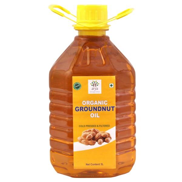 Ground Nut Oil (3 L)