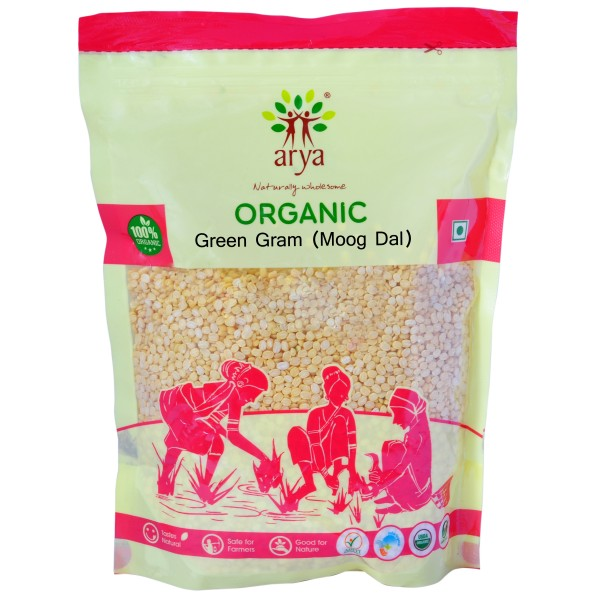 Green Gram(Moong Dal) (500g)