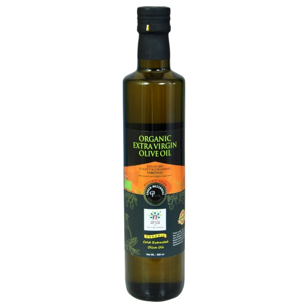 Organic Extra Virgin Olive Oil-Premium (500ml)