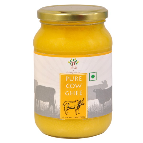 Pure Cow Ghee (500ml)