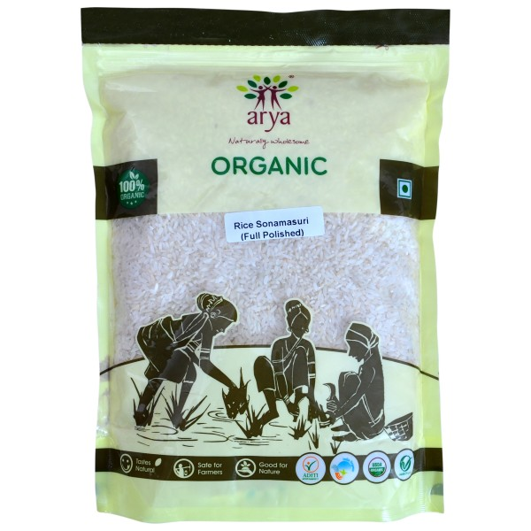 Rice Sonamasuri (Full Polished) (1kg)