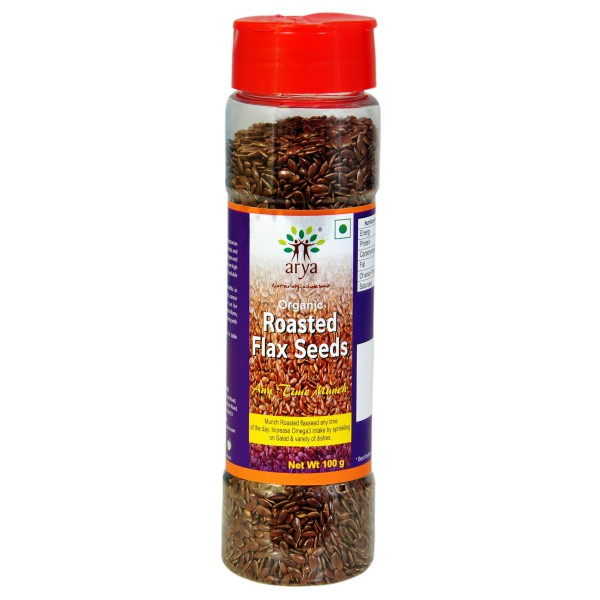 Roasted Flaxseeds (100g)