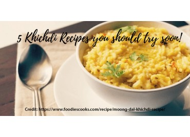 5 Khichdi Recipes you should try soon!